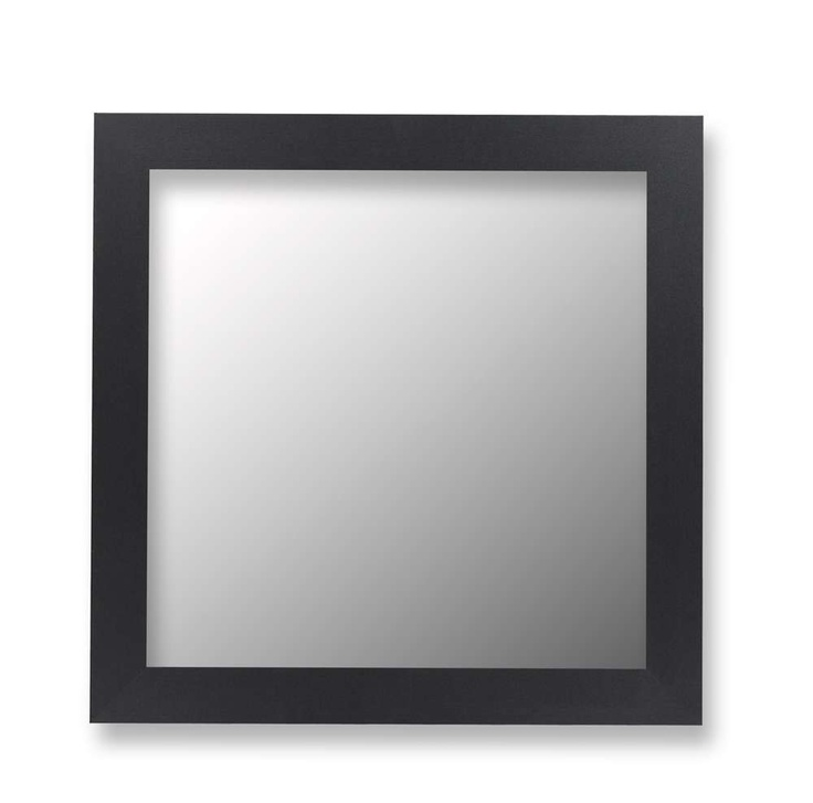 Hitchcock Butterfield Cameo Mirror with Satin Black Single 9201-1-SB