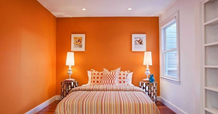 Two Colour Combination For Bedroom Walls In 2019 Bedroom ...