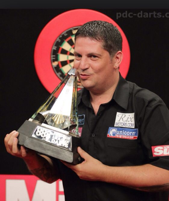Gary Anderson  Scottish pro darts player