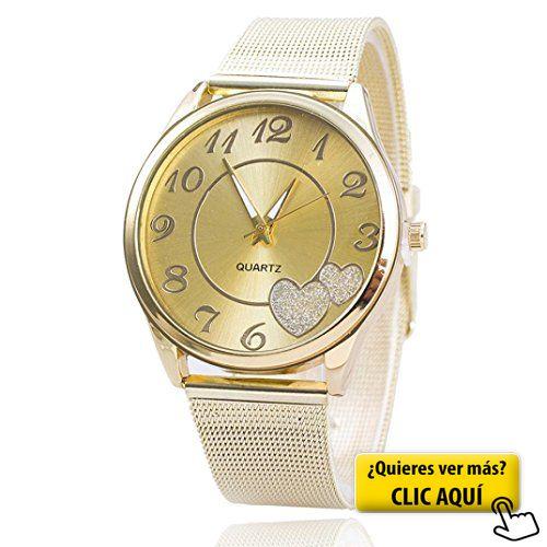 Relojes Pulsera Mujer,Xinan Reloj de Oro Malla... #reloj #mujer