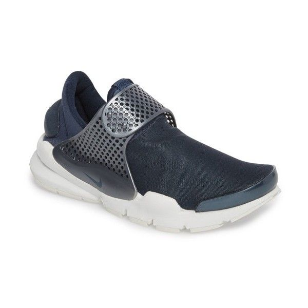 Women's Nike Sock Dart Sneaker ($130) ❤ liked on Polyvore featuring shoes, sneakers, nike shoes, lightweight sneakers, stretch sneakers, caged shoes and nike trainers