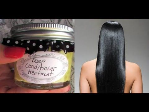 ♥ DIY Natural Homemade Deep Conditioner at Home Hair Remedies Treatments For Dry Hair