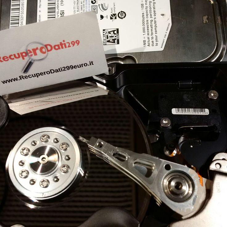 Samsung HD103SI rovinato poiché tenuto acceso dopo caduta. Anello ai bordi del piatto @RecuperoDatiVR #RecuperoDati299