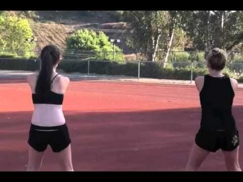 Calabasas High School Cheer (part 1)