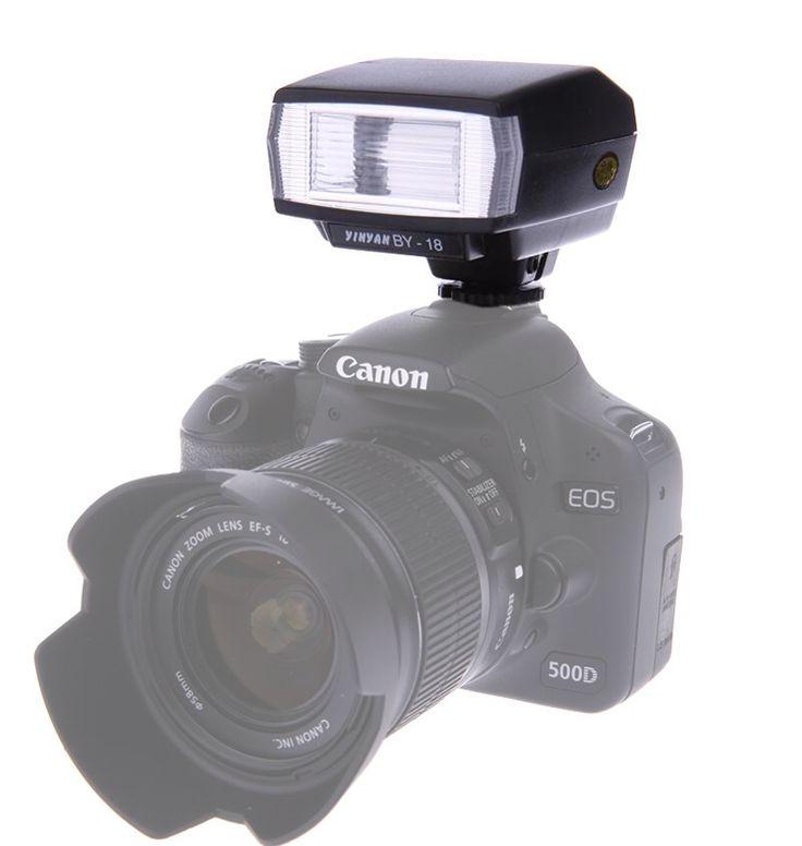 Mini camera flash speedlite voor canon nikon pentax olympus sony a7 a7r a7s a7ii nex-6 a6000 a6300