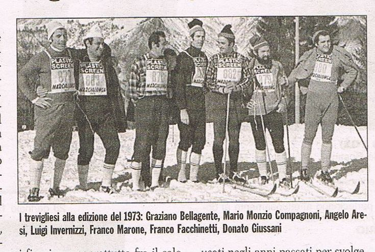 1973 Trevigliesi alla Marcialonga