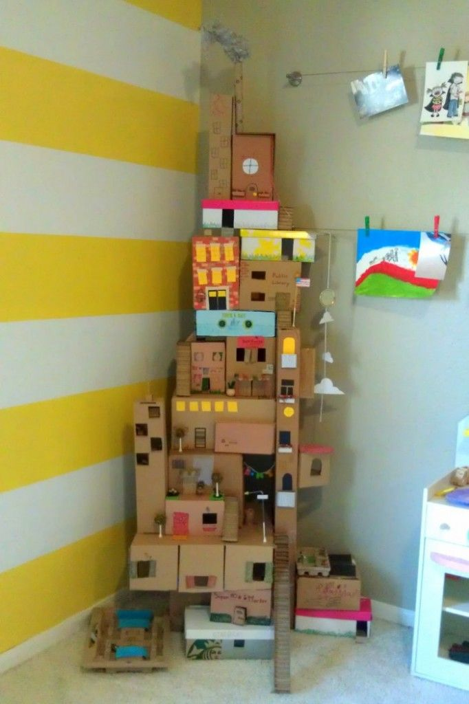 Shoebox tower/city