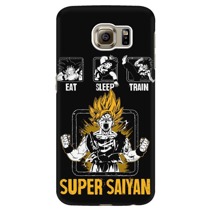 Super Saiyan Goku Training android phone case - TL00043AD-BLACK