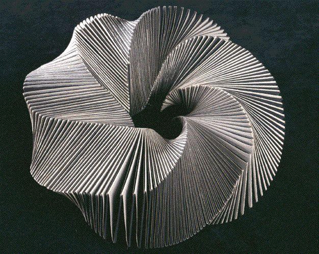 İlhan Koman,1980-86 3-D MOEBIUS DERIVATIVES & PYRAMIDS (Stockholm – Sweden)