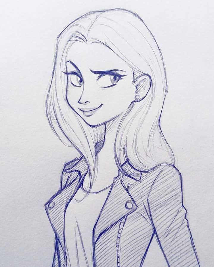 Best 25 Girl Sketch Ideas On Pinterest Girl Drawing