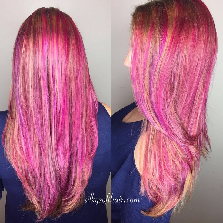 Use This Oil Before Coloring Your Hair: 25+ Best Ideas About Pink Hair Highlights On Pinterest