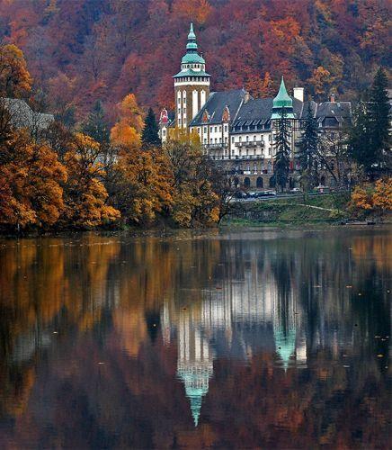 Lillafüred castle, Lillafüred, Bükk Mountains, Hungary