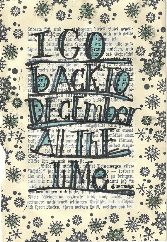 Taylor Swift  #Back to December original illustration by PaperPetite, $10.00