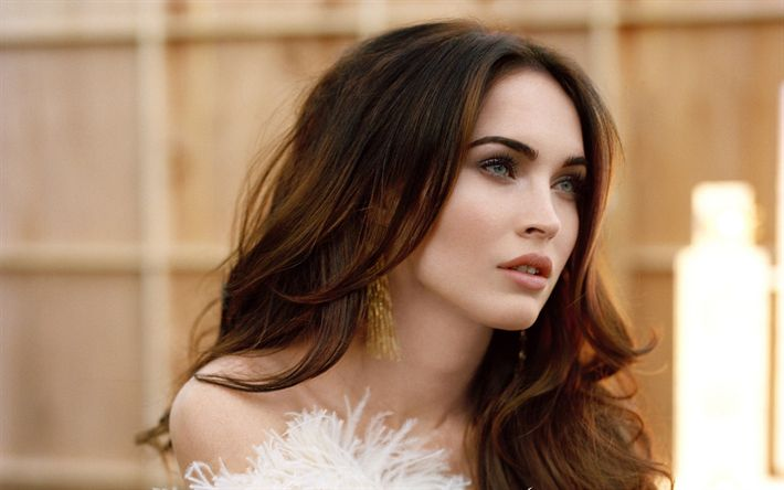 Download wallpapers Megan Fox, 2017, Hollywood, portrait, movie stars, american actress, beautiful woman