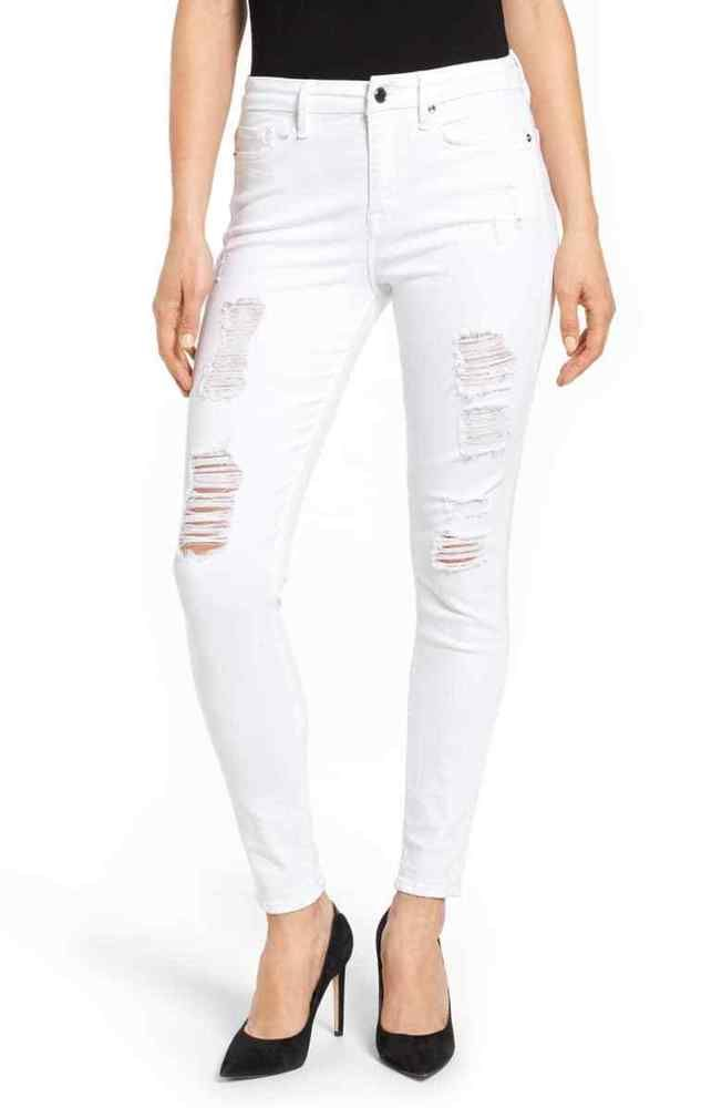 7e3f1191101 NWT GOOD AMERICAN Good Legs High Rise Ripped Skinny Jeans 14/ 32 #fashion  #clothing #shoes #accessories #womensclothing #jeans (ebay link)