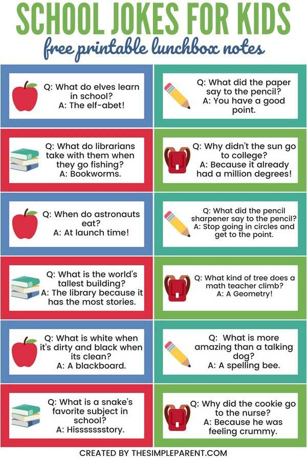 School Jokes For Kids Are A Fun Way To Celebrate Back To School Whether The Kids Think They Re Hilarious Or J School Jokes Jokes For Kids Funny Jokes For Kids