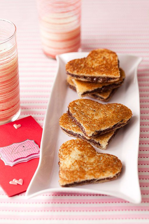 Valentine's Day recipes: Chocolate Paninis