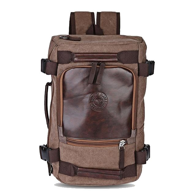 Multifunctional travel bag, backpack shoulder bag and duffel bag all in one. High quality material and stylish design. Perfect travel companion.