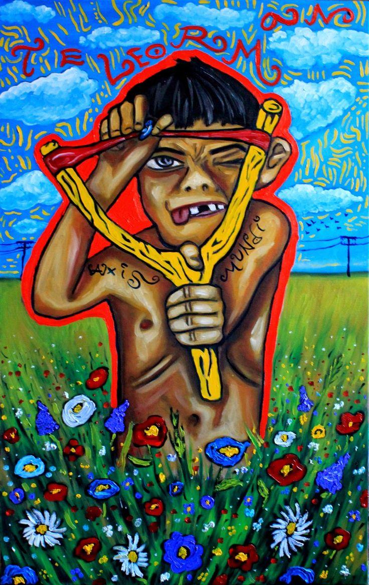 Teleorman, oil on canvas, 60/100, 2014