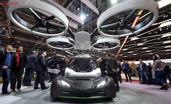 Airbus mostra carro voador, autônomo e modular