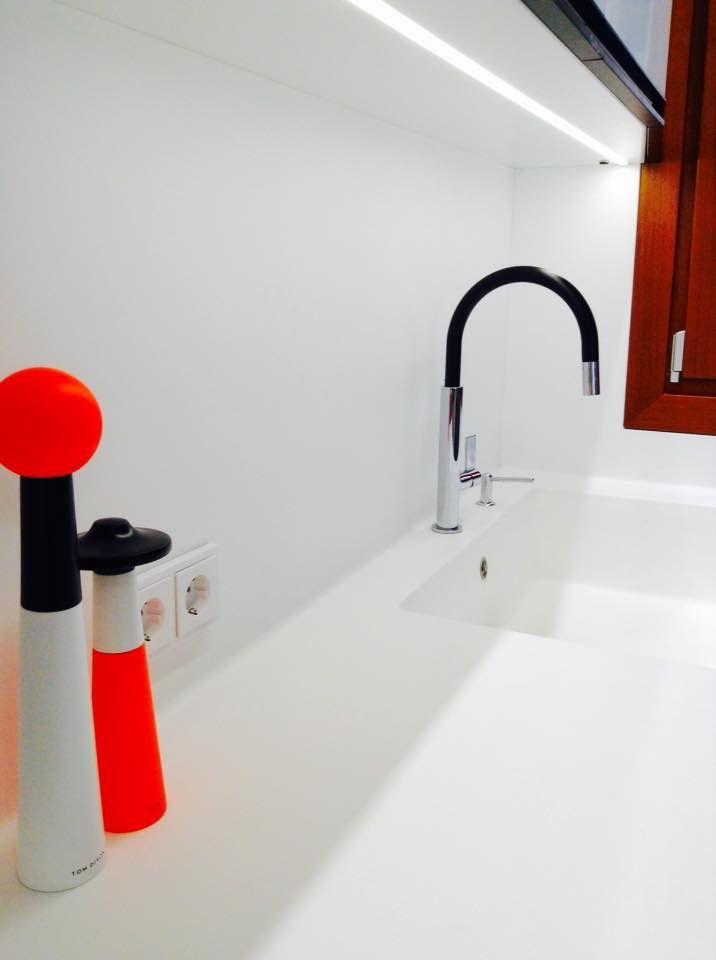 #solid #surface #hanex #kitchen#franke#tomdixon#design#interiordesign#home