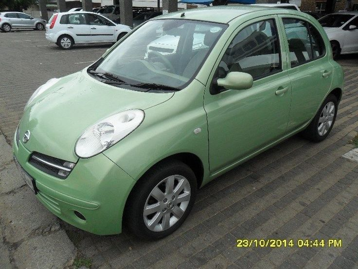 Nissan Micra 1.4 Acenta 5DR, manual with airconditioner, powersteering and electric windows front. This is a ideal city car, compact, easy to handle, light on fuel and very comfy. Contact Andries du Plessis 0796939251.
