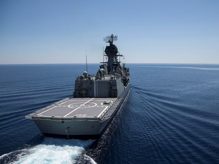 HMAS Anzac passes islands of the Greek Archipelago as the ship transits the Mediterranean Sea during Northern Trident 2015. The Royal Australian Navy frigate HMAS Anzac deployed on NORTHERN TRIDENT in March 2015, representing Australia at Centenary of Anzac commemorations in the Mediterranean and engagements across a number of international ports. The six-month deployment highlights a century of Australian military service, showcasing Australian technology, and provides opportunities to…
