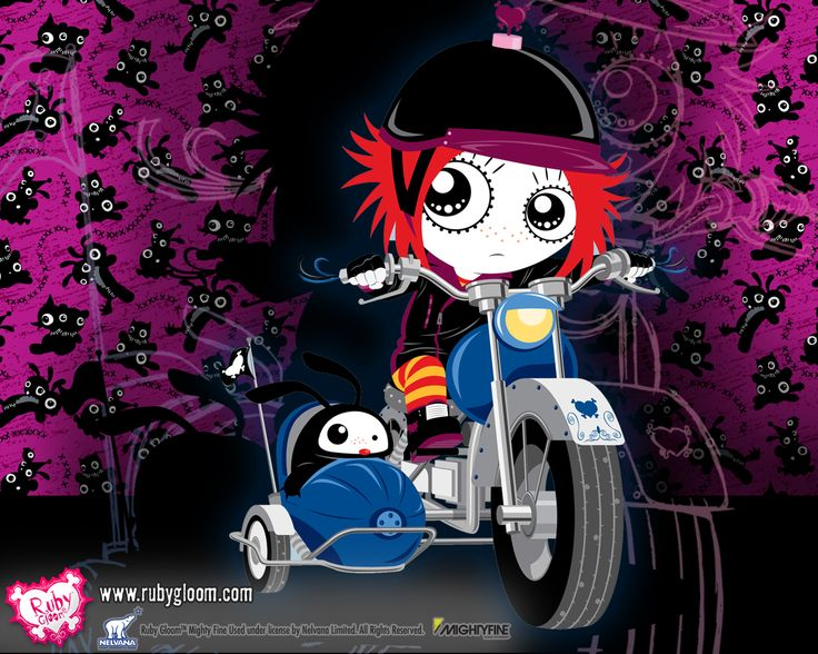 ruby gloom | Ruby Gloom - Fun Stuff Wallpapers