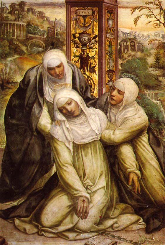Les Cahiers de Cassiciacum : Vie de sainte Catherine de Sienne, Dominicaine. Fête le 30 avril.