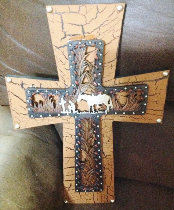 KNEELING COWBOY CROSS Wall Decor by TheCrossedCupcake on Etsy ...