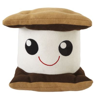 Oh my word, it's a plush S'more!