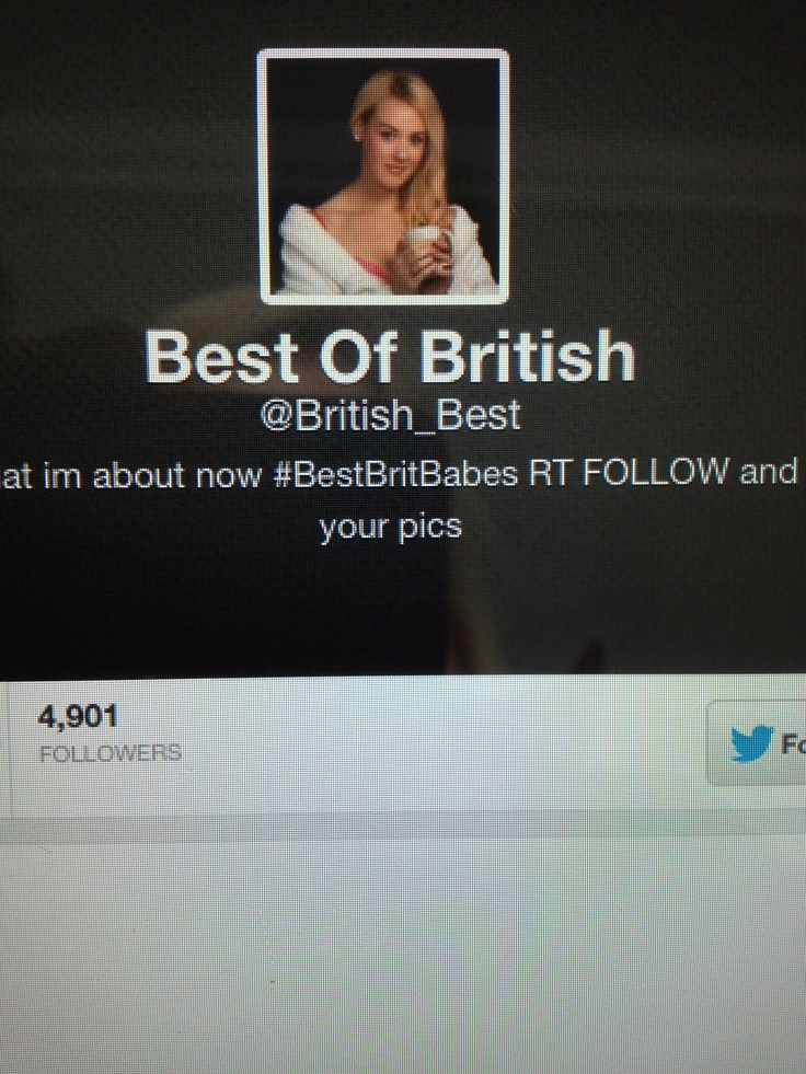 Bless I'm on a twitter best British babes page kimberley Dunn
