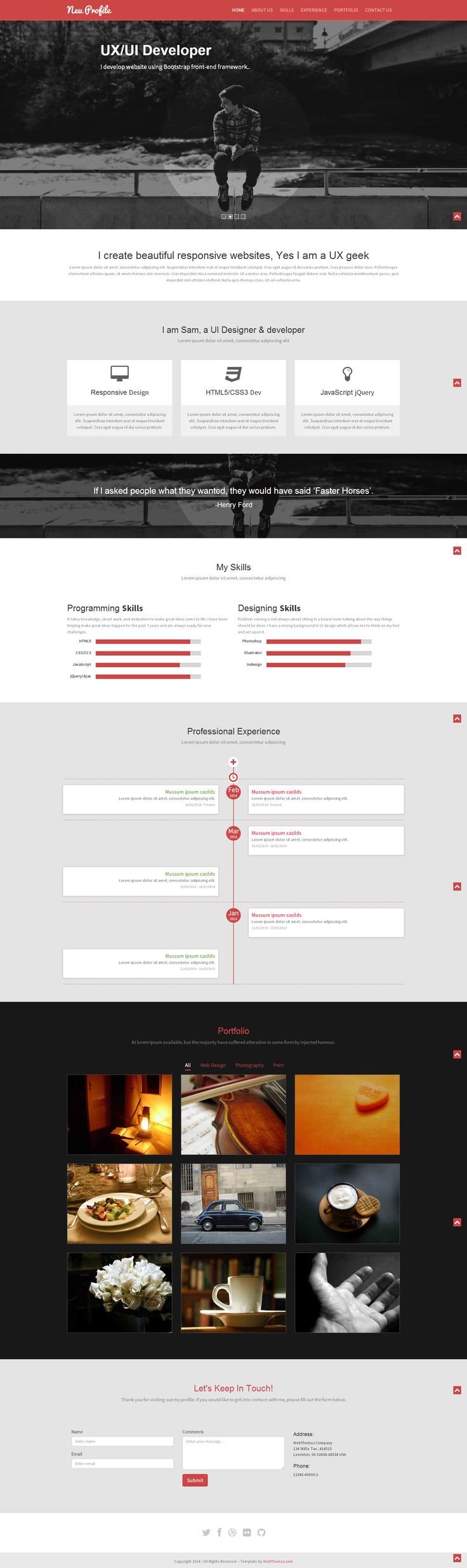 51 best free bootstrap templates images on pinterest free website single page template is designed for corporate business realestate independent agents and maxwellsz