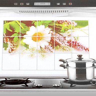 Кухонный настенный стикер, стойкий к влаге, грязи и масло, 75x45cm – RUB p. 143,06