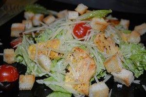 Турецкий салат Слоеный салат с беконом и индейкой.