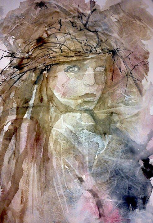 Watercolor wild child