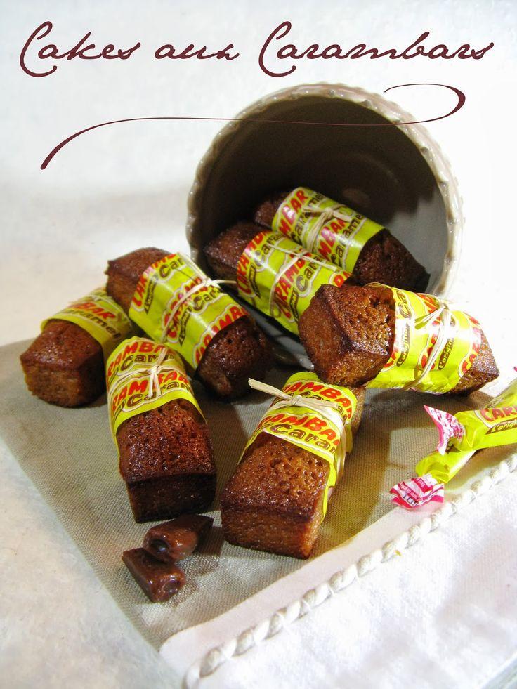 Si vous remontez loin dans les archives de ce blog, vous tomberez déjà sur une recette de Cakes aux Carambars® ( ICI ).   Quand je voi...