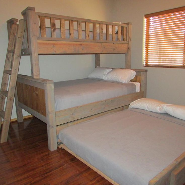 bunk beds twin full size trundle bedroom sets bed white