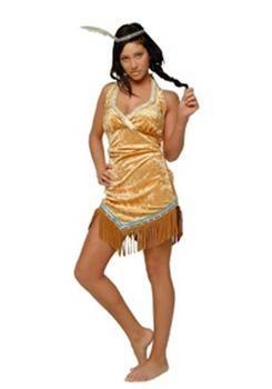 Indian costume.  Disfraz de India sexy adulto.
