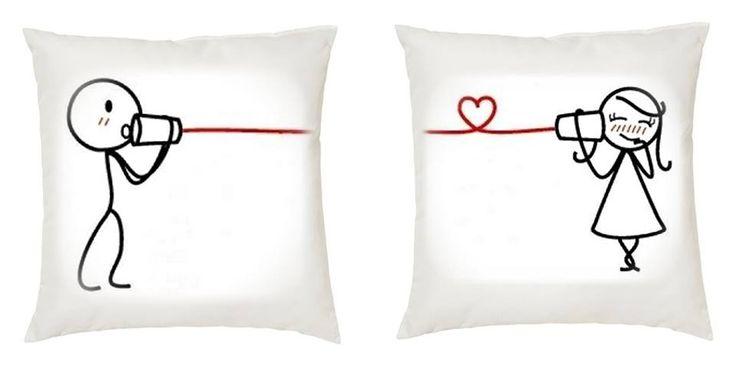 Almohadones para enamorados- diseños varios- medidas 35cm x 35 cm