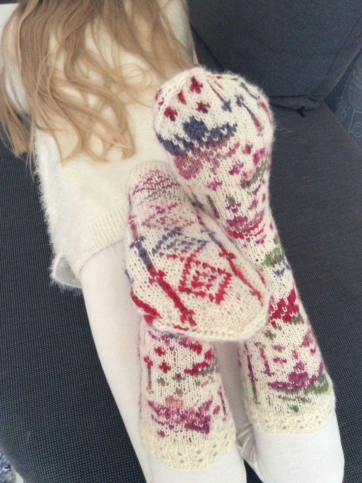 Marsa's Flying Butterfly socks (Model: Aud Bergo, Ravelry)