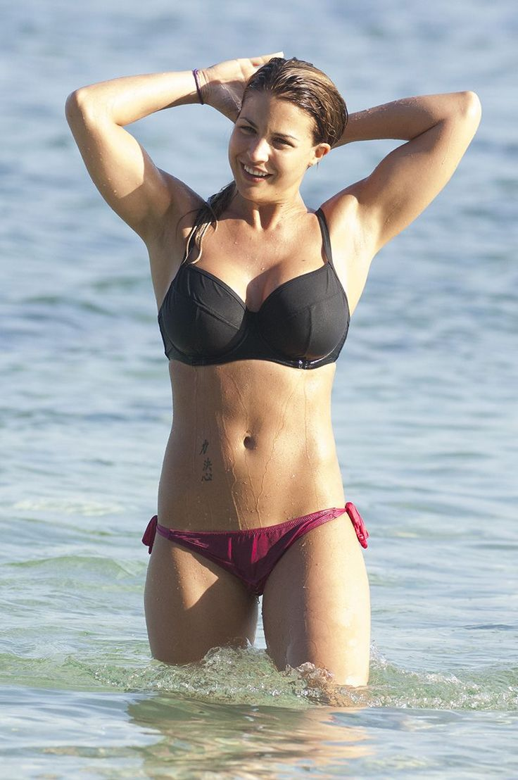 Sizzling Hot Pics of Actress Gemma Atkinson on Holidays ...