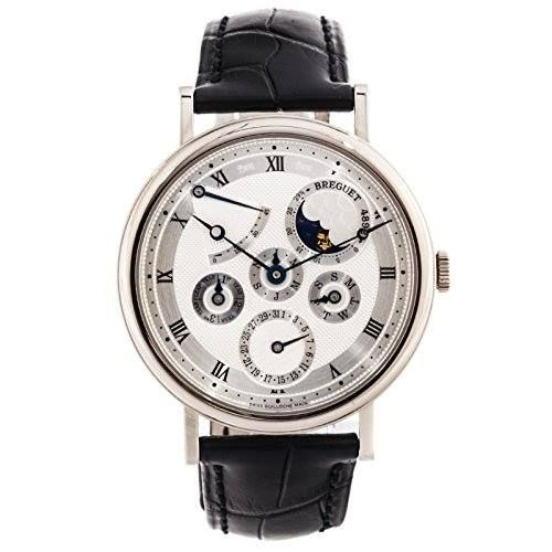 http://ift.tt/2rWpsK3 Check Price https://goo.gl/qU7Szc  Breguet Classique automatic-self-wind mens Watch 5327BB/1E/9V6 (Certified Pre-owned)                            Pre-Owned Breguet Classique Perpetual (5327BB1E9V6) self-winding automatic watch features a 39mm 18k white gold case surrounding a silver dial on a black alligator strap with 18k white gold deployment buckle. Functions include hours minutes power reserve indicator leap year indicator and perpetual calendar. This watch comes…