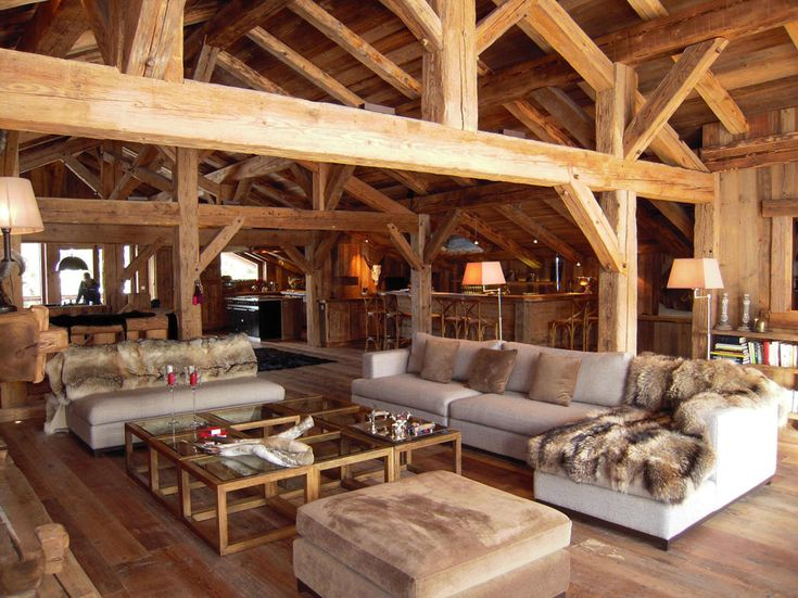 les 25 meilleures id es de la cat gorie chalet ski sur pinterest int rieur chalet chalets et. Black Bedroom Furniture Sets. Home Design Ideas