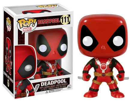 Funko Pop Marvel Deadpool (Movie) (Two Swords)