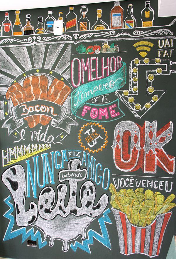 Chalkboard by Bruna Brom - Blackboard - Quadro Negro
