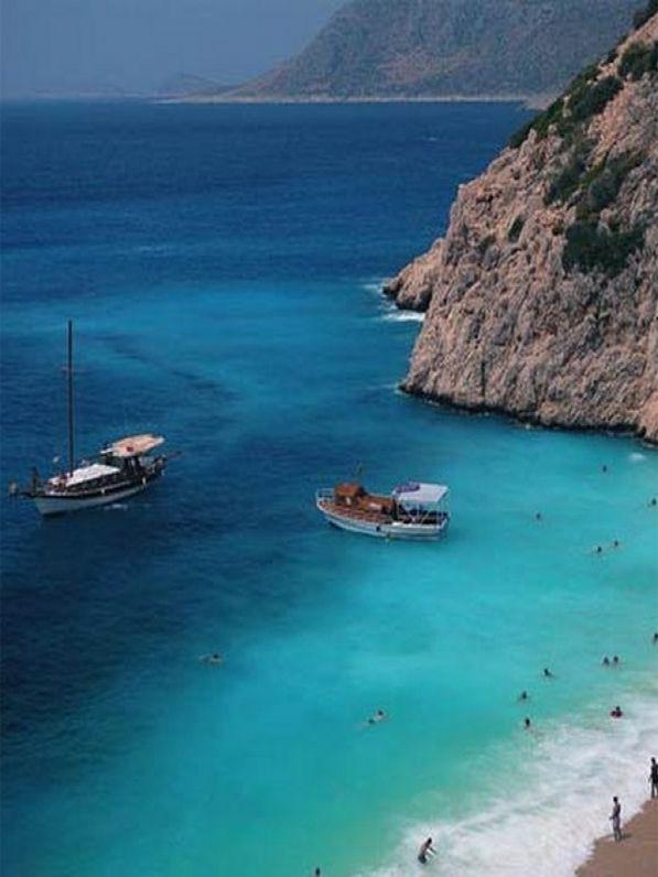 Bodrum Peninsula, Turkey - home of catamaran parties and teal blue ocean