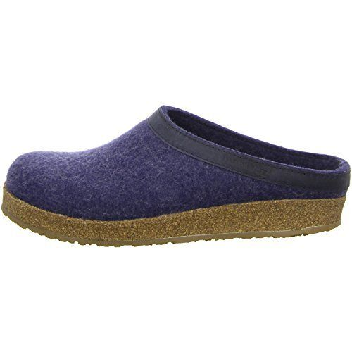 Haflinger Torben, Unisex-Erwachsene Pantoffeln, Blau (Jeans 72), 43 EU - http://on-line-kaufen.de/haflinger/43-eu-haflinger-torben-unisex-erwachsene
