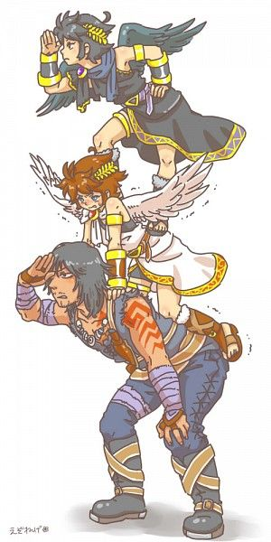 Magnus, Pit, Dark Pit. I don't know why but, this made me laugh.
