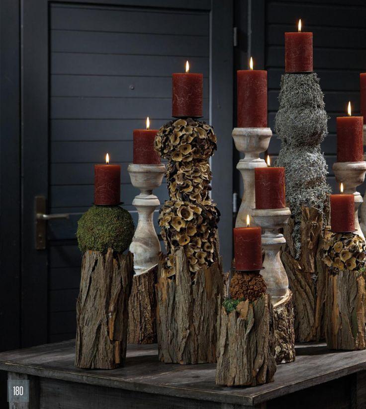 25 einzigartige deko weihnachten holzstamm ideen auf. Black Bedroom Furniture Sets. Home Design Ideas